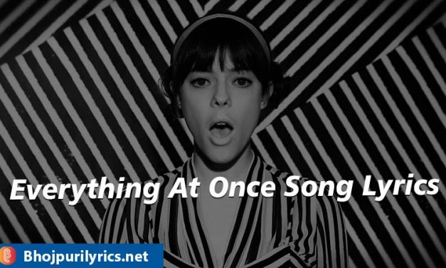 Everything At Once Song Lyrics